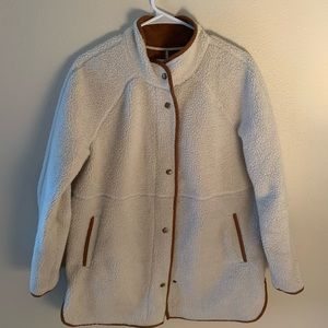 Old navy sheepskin jacket
